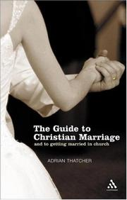 Cover of: The guide to Christian marriage