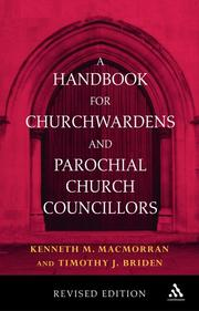 Cover of: A Handbook for Churchwardens And Parochial Church Councillors | Kenneth M. Macmorran