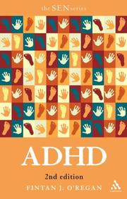 Cover of: ADHD (Special Educational Needs S.) | Fintan J. O