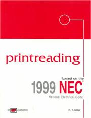 Cover of: Printreading: Based on the 1999 NEC (Printreading: Based on the Nec)