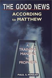 Cover of: The good news according to Matthew