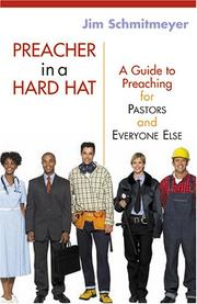 Cover of: Preacher in a Hard Hat | Jim Schmitmeyer