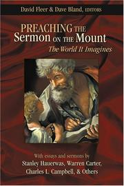 Cover of: Preaching the Sermon on the Mount |
