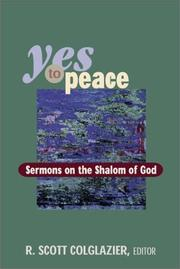 Cover of: Yes to Peace
