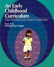 Cover of: An early childhood curriculum