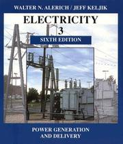 Electricity 3 by Walter N. Alerich