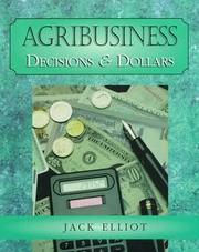 Cover of: Agribusiness | Jack Elliot