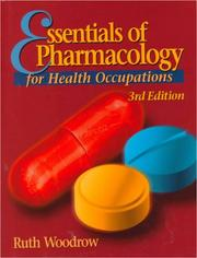 Cover of: Essentials of Pharmacology for Health Occupations