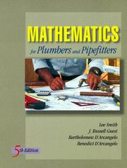 Mathematics for plumbers and pipe fitters (1996 edition