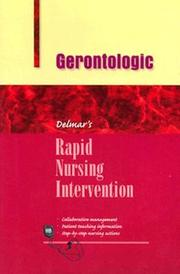 Cover of: Gerontologic