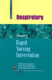 Cover of: Rapid nursing interventions