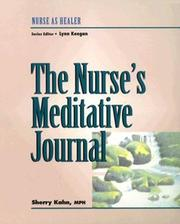 Cover of: The Nurse's Meditative Journal