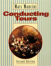 Cover of: Conducting tours
