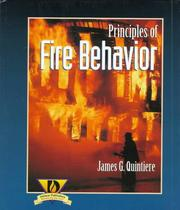 Cover of: Principles of fire behavior | James G. Quintiere