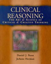 Cover of: Clinical reasoning