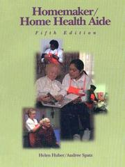 Homemaker/home health aide by Helen Huber