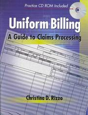 Cover of: Uniform Billing | Christina D. Rizzo