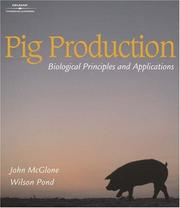 Cover of: Pig production