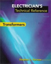Cover of: Electrician's technical reference--transformers