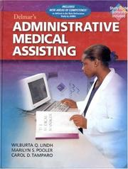 Cover of: Delmar's administrative medical assisting
