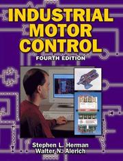 Cover of: Industrial motor control