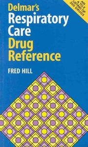 Cover of: Delmar's Respiratory Care Drug Reference
