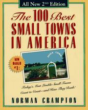 Cover of: The 100 best small towns in America | Norman Crampton