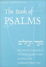 Cover of: Book of Psalms | Jewish Publication Society of America.