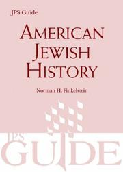 Cover of: American Jewish History (Jps Guide)