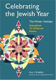 Celebrating the Jewish Year by Paul Steinberg