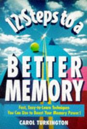 Cover of: 12 Steps to a Better Memory