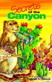 Cover of: Secrets of the canyon