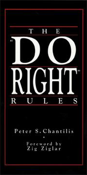 "Cover of: The "" do right"" rules"