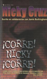Cover of: ¡Corre Nicky!, ¡Corre!