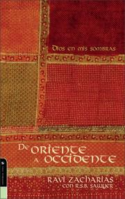 Cover of: De oriente a occidente