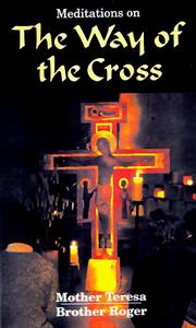 Cover of: Meditations on the way of the cross