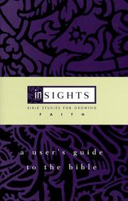 Cover of: A user's guide to the Bible | Lynne M. Deming
