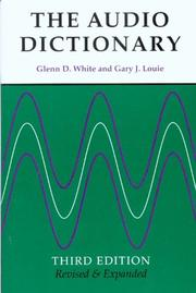 Cover of: The audio dictionary | Glenn D. White