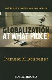 Globalization at What Price? by Pamela Brubaker