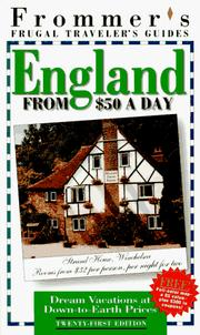 Cover of: England from $50 a Day | Darwin Porter
