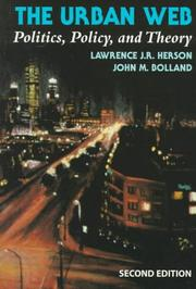Cover of: The urban web | Lawrence J. R. Herson