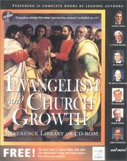 Cover of: Evangelism and Church Growth: Reference Library