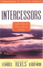 Cover of: Intercessors | Elizabeth Alves