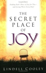 Cover of: The Secret Place of Joy (Lifepoints) | Lindell Cooley