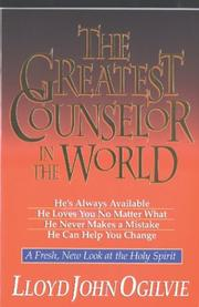 Cover of: The Greatest Counselor in the World
