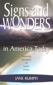 Cover of: Signs and Wonders in America Today | Jane Rumph