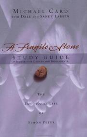 Cover of: A Fragile Stone Study Guide | Michael Card