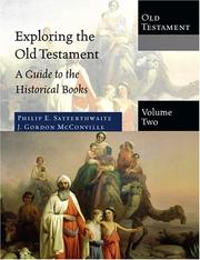 Cover of: Exploring the Old Testament | Philip Satterthwaite