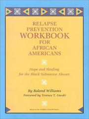 Cover of: Relapse Prevention Workbook for African Americans