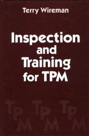 Cover of: Inspection and training for TPM